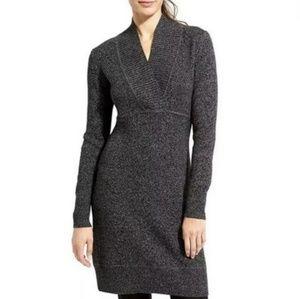Athleta | Black Marl Innsbrook Merino Wool Dress